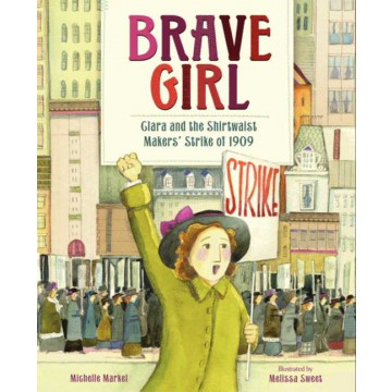 """Prepare for the march by reading books about social action, like """"Brave Girl"""". More suggestions here."""
